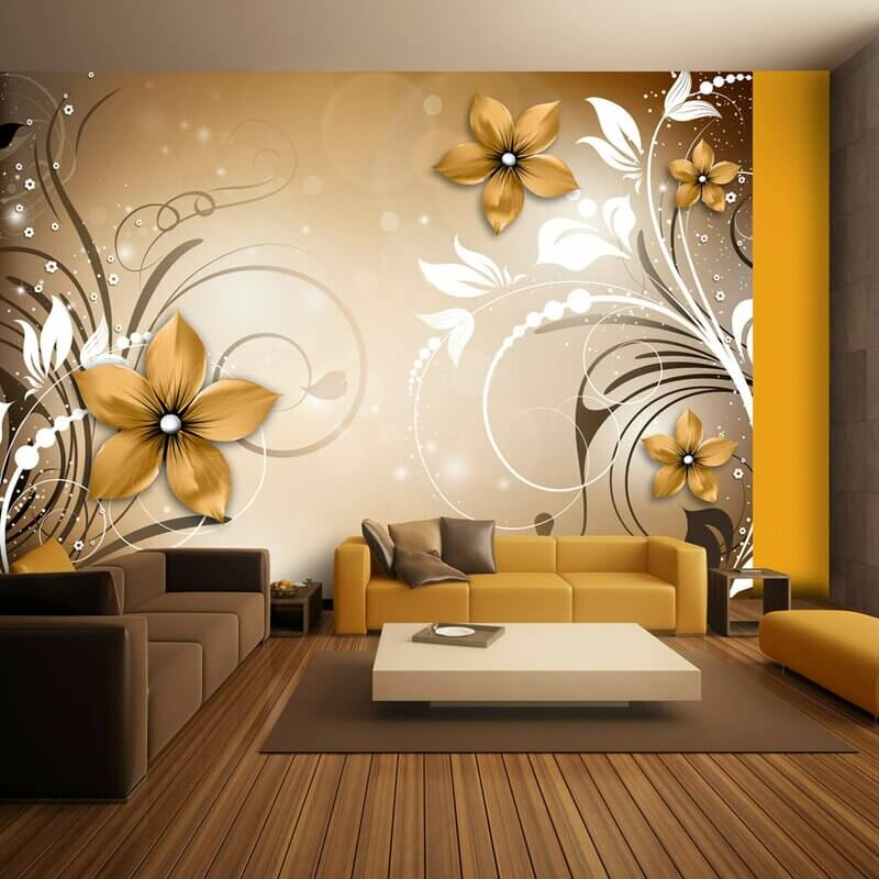 10 Wall Décor Ideas to Upgrade Your Room- Full Wall Stencil