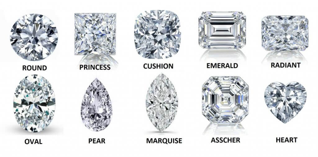 How to Pick a Diamond for Your Lover- Diamond Shape