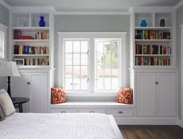 Interior Design- 6 Ways to Add Seating in Your Bedroom- Window Seating