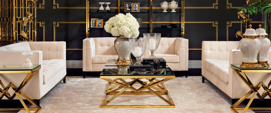 The Best Luxury Interior Design Tips to Improve Your Home- Metallic Accents
