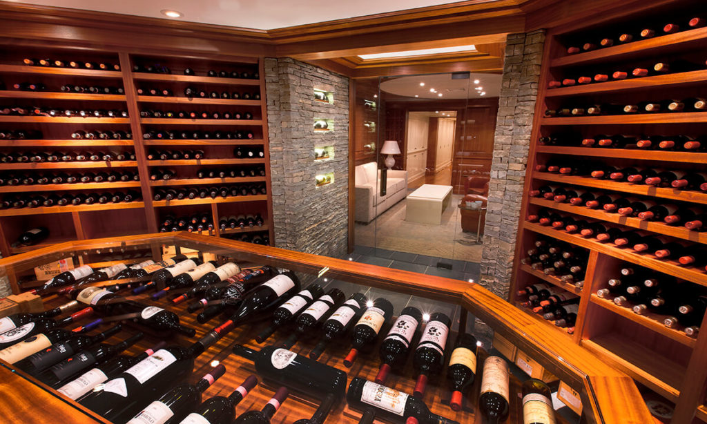 The Best Luxury Interior Design Tips to Improve Your Home- Wine Cellar