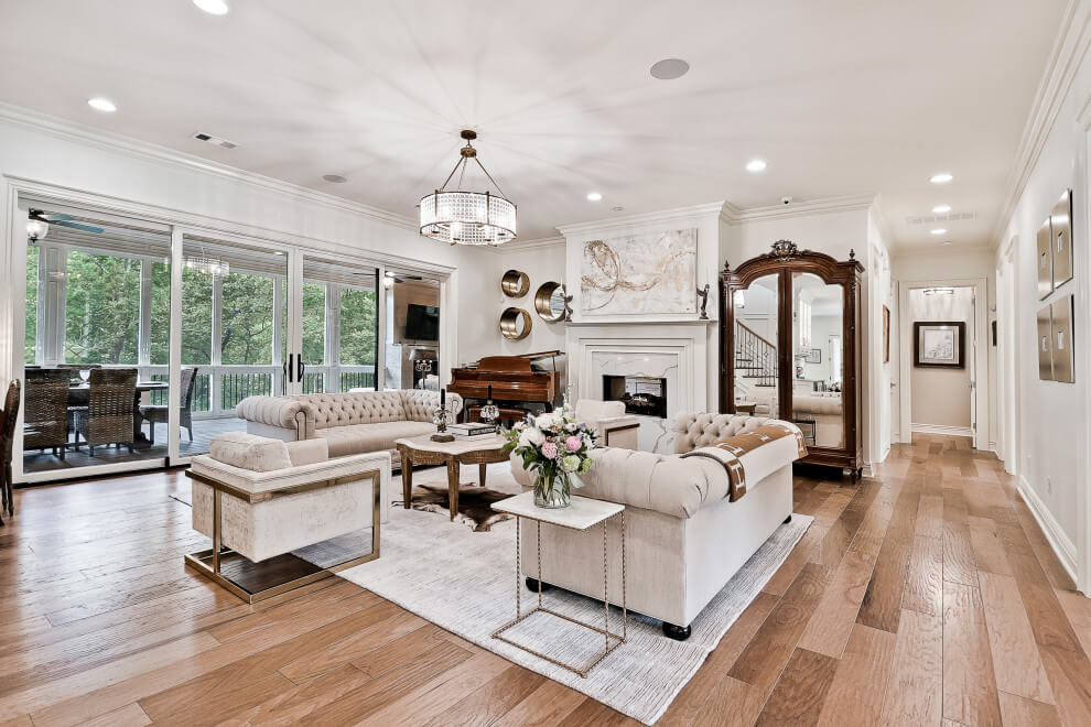 The Best Luxury Interior Design Tips to Improve Your Home- Wooden Floors