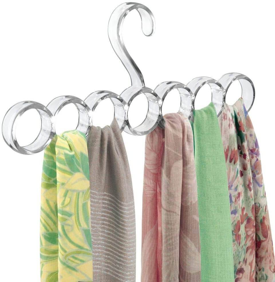 10 Organizing Tips for Your Accessories- Rod for Scarves
