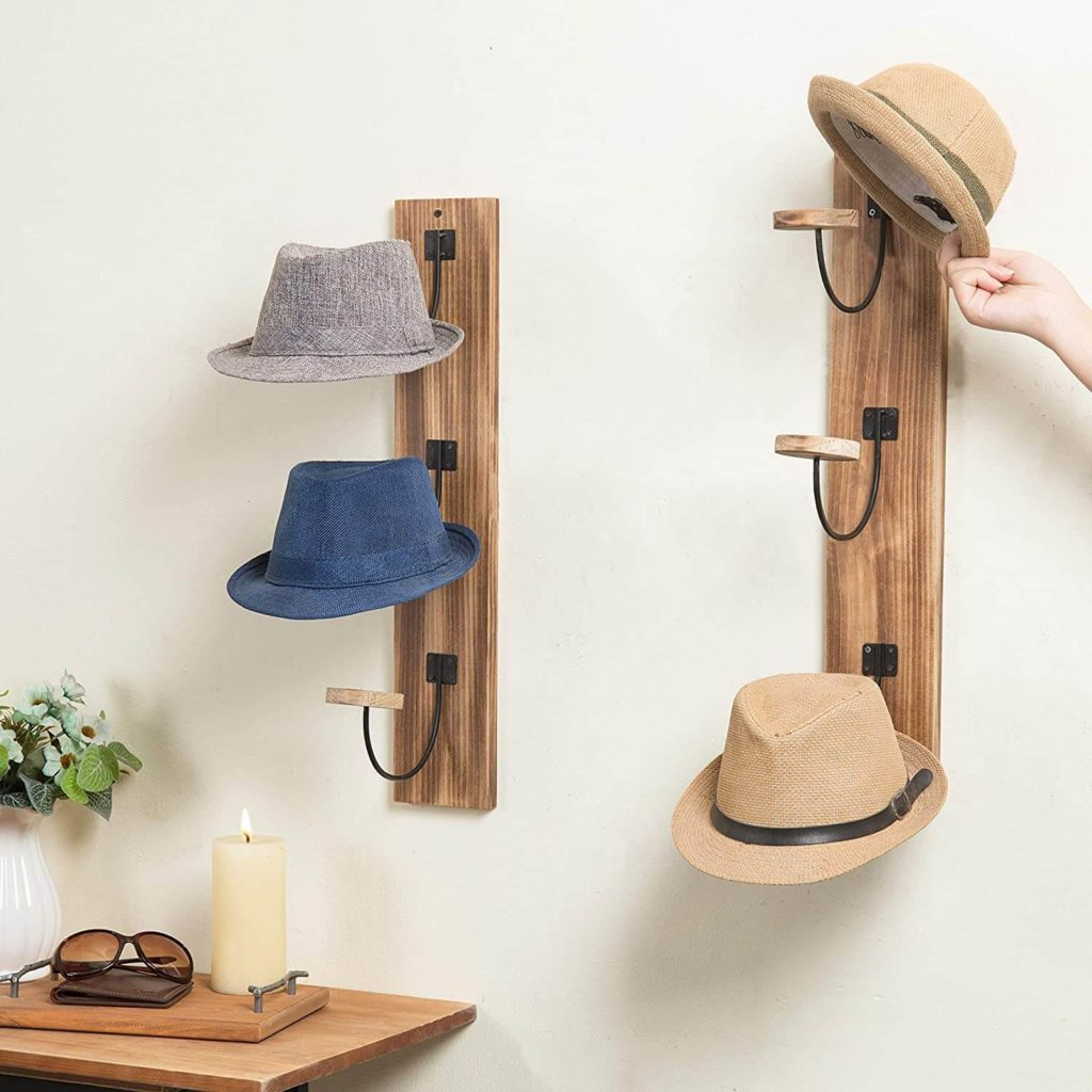 10 Organizing Tips for Your Accessories- Hat Rack