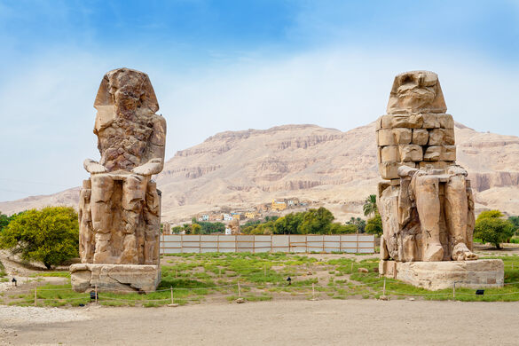 12 Best Places to Visit in Ancient Egypt- Colossi of Memnon