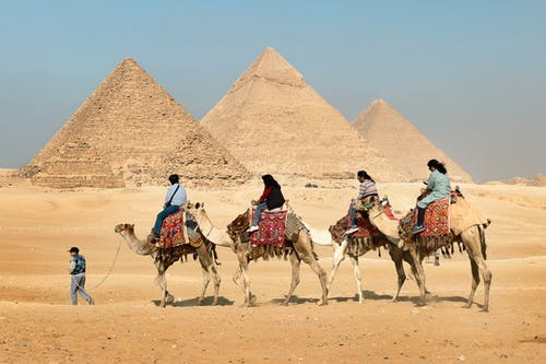 12 Best Places to Visit in Ancient Egypt- Pyramids of Giza