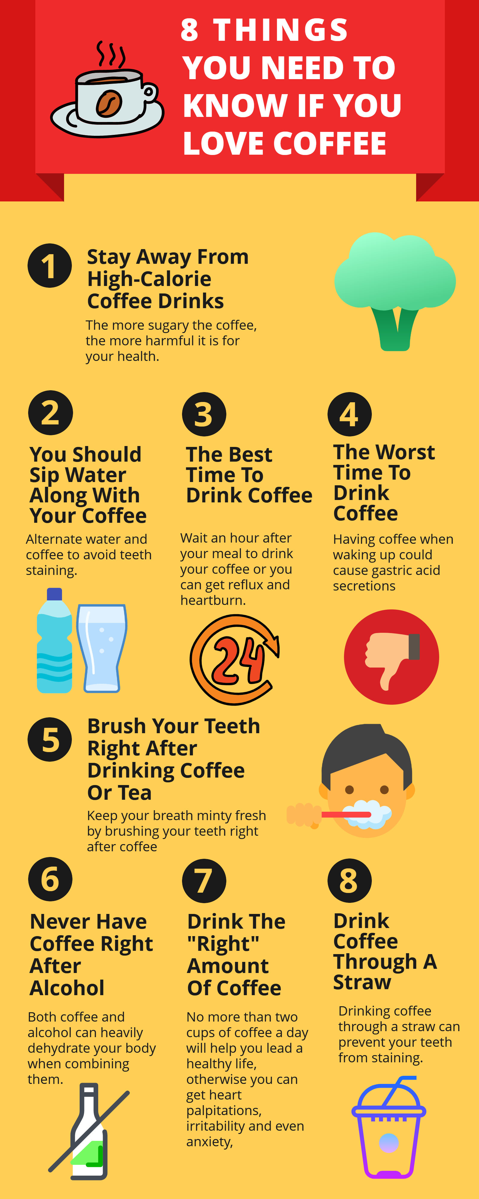 8 Things You Need to Know if You Love Coffee- Infographic