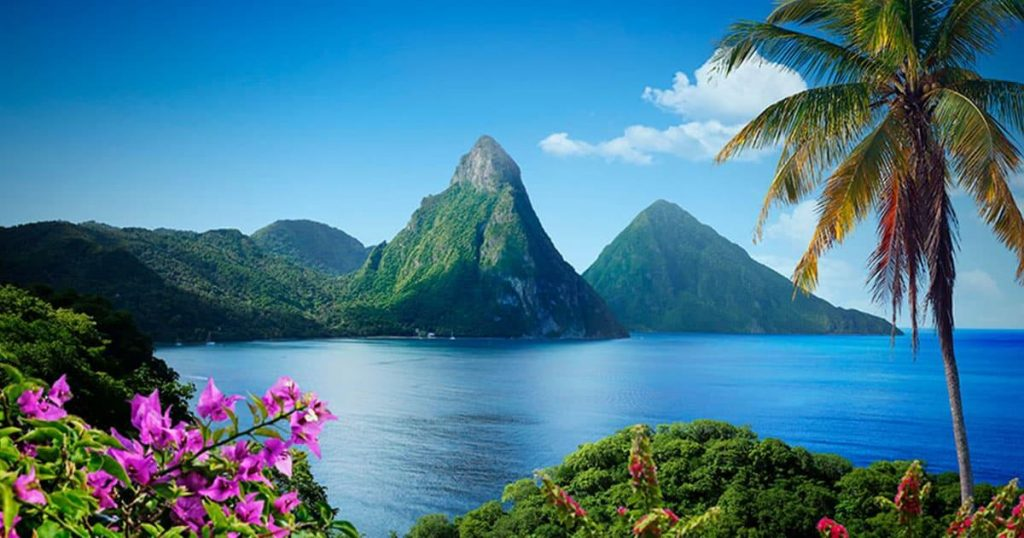 10 Best Caribbean Islands to Visit- Santa Lucia